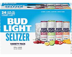 Bud Light Seltzer Variety 24pk cans