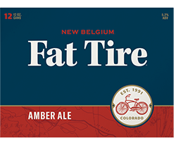 New Belgium VooDoo Ranger/Fat Tire 12pk Cans