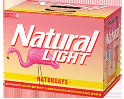 Natural Light Naturdays 30pk Cans