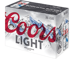 Coors Light or Banquet 36pk Cans