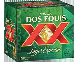 Dos Equis 12pk Bottles