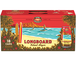 Longboard or Big Wave 18pk Cans