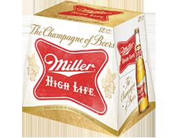 Miller High Life (or Light) 12pk Bottles