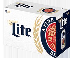 Miller Lite 36pk Cans