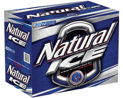 Natural Ice or Natural Light 30pk Cans