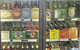 We have an enormous selection of beer and soda